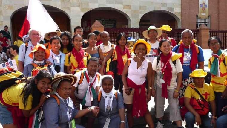 JMJ Cracovie 2016 catholiques Malagasy