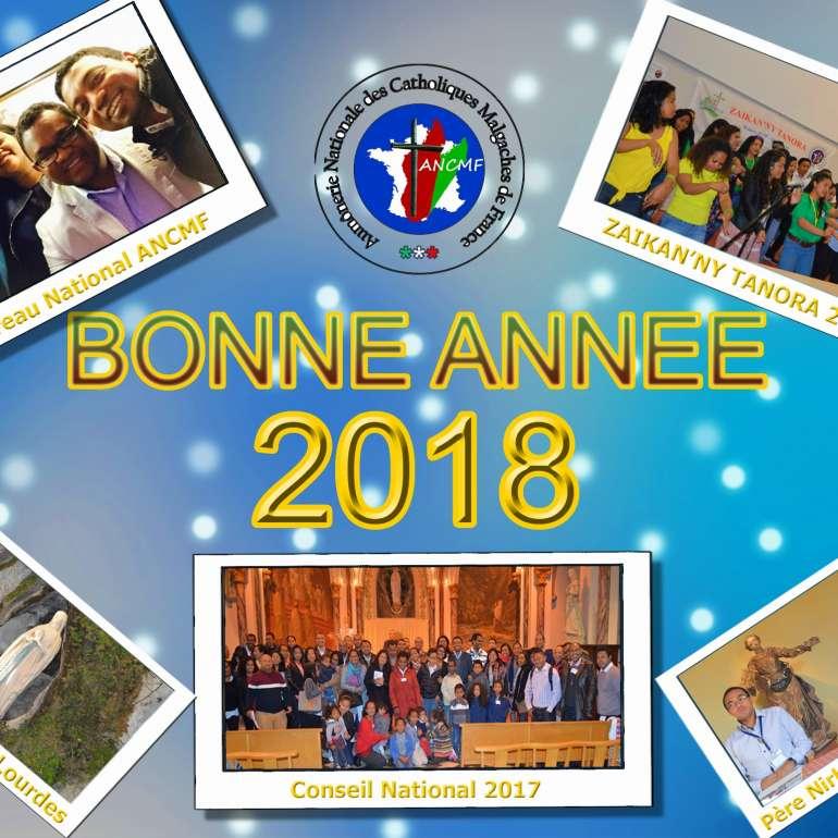 Meilleurs Voeux de Paix 2018!